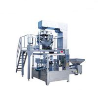 China Automatic Banana plantain chips Packaging machine multihead weigher on sale
