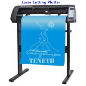 China 24'' Servo Motor Reflective Film Laser Cutting Plotter with USB / Serial Port / U Disk on sale