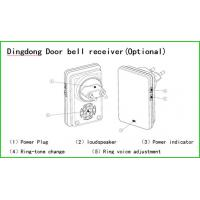 mobile phone app control 140 degree viewing angle wifi video doorbell of cheeralarm