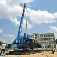 Quality ZYC460 Hydraulic Static Pile Pressing Machines For Precast Pile Driving Of for sale
