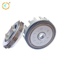 Quality Steel Shinny Scooter Clutch Assembly , CD110 Motorcycle Engine Clutch for sale
