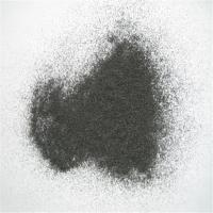 China Sandpaper raw material abrasive grains black fused alumina on sale
