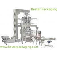China Vertical Form-Fill-Seal Packing Machine with Z type elevator ,the balance weight wholesale