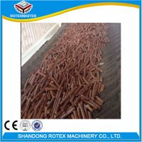 Quality CE Ring Die Pellet Machine / Pine Rubber Wood Pelet Mill Production Line for sale