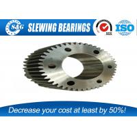 China Custom Open Die Forging Gear And Shaft Set Carbon Steel For Machine wholesale