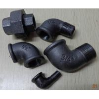 Malleable cast iron pipe fittings casting fitting a