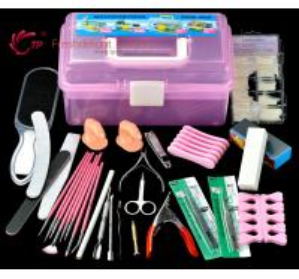 Nail Art Diy Kit : Professional full ser diy nail art tools kits of item