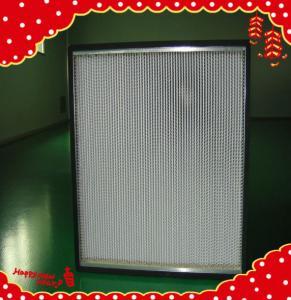 China 915x610x150mm fiberglass filter media minipleated high temperature air filtration wholesale
