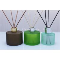 China decoration design reed diffuser bottle with silver lid for wholesale wholesale
