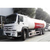 China HOWO 6x4 10 Wheel Bobtail LPG Truck 20M3  20000L For Filling LPG Gas Cylinders wholesale