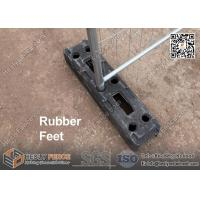 Rubber Block Temporary Fence Feet