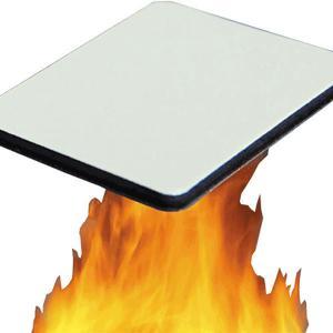 China ISO Ceiling Decoration 0.5mm B1 Fireproof Aluminum Composite Panel wholesale