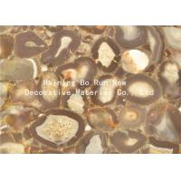 China Stone Design Soft Pet Hot Stamping Film PVC Surface Covering Usage wholesale