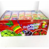 China Colorful Multi Fruit Flavor Twist Lollipop with Fluorescent sticks sweeet and healthy wholesale