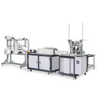 China Non Woven Earloop Mask Producing Machine 220V 120-150 PCS / Qualification Rate Min 98-99% wholesale