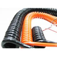 China Coiled Power Cord Spring Coiled Electrical Wire For Signal Transmission wholesale