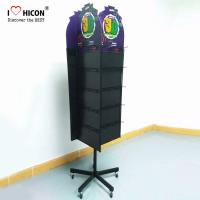 China Custom Logo Retail Store Merchandising Display Solution Metal Display Racks Meet Your Needs wholesale