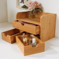China China Bamboo Cosmetic Organizer Table Organizer wholesale