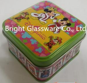 China Perfect fashion tinplate candle jar with logo design wholesale