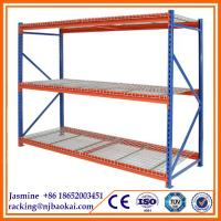 Wholesale Widely Used Slotted Angle Display Supermarket Racks,Longspan Shelving from china suppliers