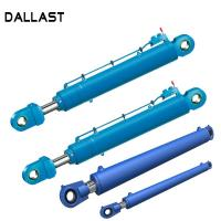China GS Garbage Truck Hydraulic Cylinders with Piston Medium Stroke Double Acting on sale