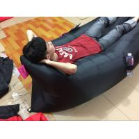 Buy cheap hot sell Lazy lamzac hangout inflatable air sleeping bag/sofa/couch bed for from wholesalers