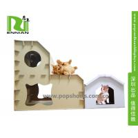Wholesale Customized Printing Cardboard Kids Toys Cat , Dog house /playhouse from china suppliers
