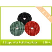 Wholesale power tool  3 step wet polishing pad  for stone polishing   good lifetime  high light sharp from china suppliers