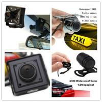 China Recoda 420 / 700 / 800 Tvl Hidden Cameras In Cars Automotive For Reversing View on sale