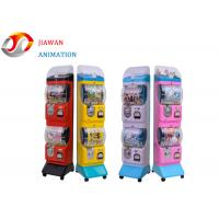 China Durable Commercial Vending Machines Two Boxes Gashapon Plastic Toy Station Capsule on sale