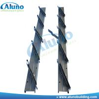 Buy cheap Spaying Metal Louver Bracket Frame Silver Color from wholesalers