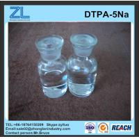 China light yellow DTPA-5Na liquid for Industry for Daily chemical wholesale