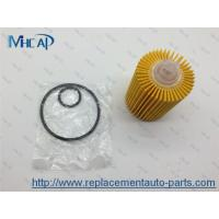 China 04152-38010 Replacing Oil Filter In Car , Paper Oil Filter Car Filtration wholesale