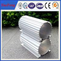 China 6061/6063 anodized Aluminum profile electric motor shell made in china wholesale