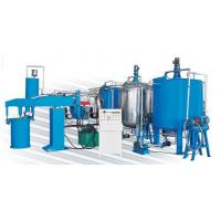 China 43kw Semi-Automatic Sponge Production Line For Foaming Mattress And Furniture wholesale
