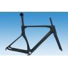 China  1000g -1150g Carbon Fibre Road Bike Frame UD Matte / Gloss Finish HT-R206  for sale