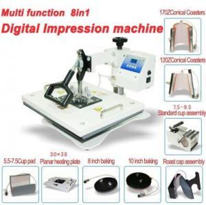 Buy cheap Versatility Heat Press Machine 8 in 1 from wholesalers