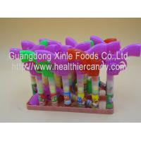 China Multi Color Gun Toy Candies / Tablet Candy With Sugar Particle Texture wholesale