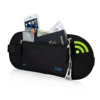 China Portable Womens Travel Bum Bag  / Travelon Anti Theft Waist Pack wholesale