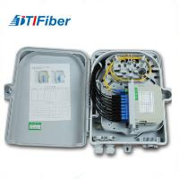 China 1x8 PLC Blockless Fiber Optic Distribution Cabinet With Pigtails / Adapters wholesale