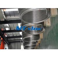 China 1 / 8 Inch TP304 / 304L Stainless Steel Coiled Tubing Coil Steel Tube For Food Industry wholesale