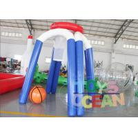 China Outdoor Giant Inflatable Basketball Shooting Hoop Game Air Sealed For Kids / Adult wholesale