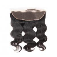 China Body Wave Ear To Ear 13x4 Lace Closure Human Hair Curly Lace Front Wigs on sale
