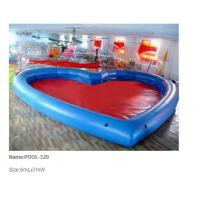 China Inflatable pool / inflatable water pool / giant heart shape pool wholesale