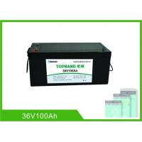 Buy cheap Lithium Ion Rechargeable Marine Battery 36 Volt 100Ah With 2 Years Warranty from wholesalers
