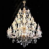 China Crystal Chandelier with Lights, Measures 1,300 x 2,000mm wholesale