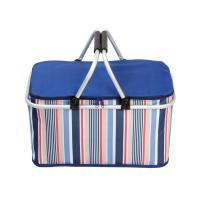 China 32L Travelling Outside Lunch Insulated Cooler Bags Foldable With Aluminum Frame wholesale