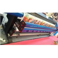 China 3.2M Wall Paper Eco Solvent Printer in 2 pcs DX5 Head CMYK 4 Color wholesale