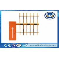 China Auto Open And Close Vehicle Barrier Gate Led Light Bar Barrier Arms wholesale