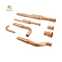China No Chemical Hurt Air Conditioner Fitting Copper Refnet Branch Pipes Fittings wholesale